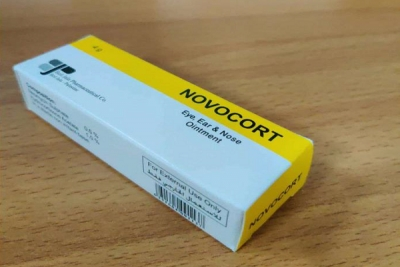 Novocort Eye, Ear and Nose Ointment